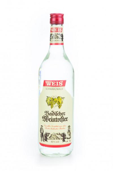 Weis Badischer Weintrester - 1 Liter 40% vol