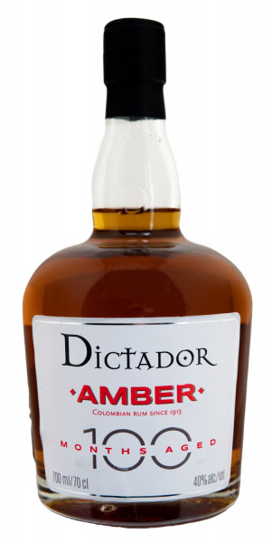 Dictador 100 Months Rum Amber - 0,7L 40% vol