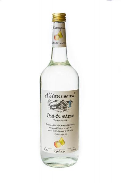 Hüttensause Obst Schnäpsle - 1 Liter 35% vol