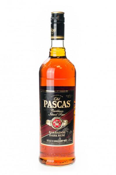 Old Pascas Ron Negro Dark Rum - 1 Liter 37,5% vol