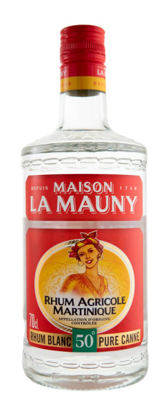 La Mauny Rhum Blanc Agricole 50 Rum - 0,7L 50% vol