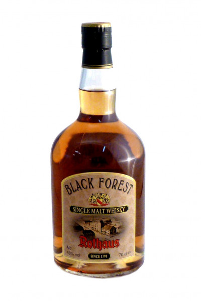 Black Forest Single Malt, Rothaus Whisky - 43% vol - (0,7L)