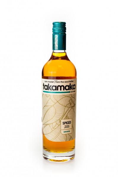 Takamaka Spiced Dark Spirituose - 0,7L 38% vol