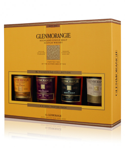 Glenmorangie Pioneer Whisky Miniaturen Set - 0,4L 43,75% vol