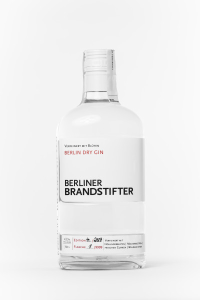 Berliner Brandstifter Berlin Dry Gin - 0,7L 43,3% vol