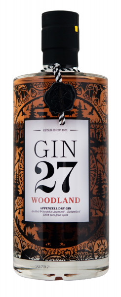 Gin 27 Woodland Appenzell Dry Gin - 0,7L 43% vol