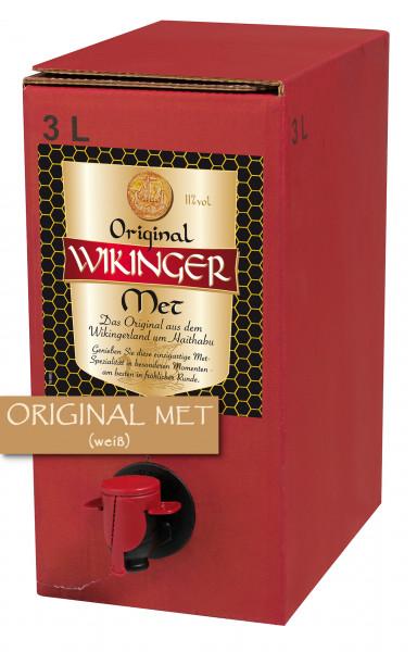 Original Wikinger Met 3 Liter Bag-Box - 3L 11% vol