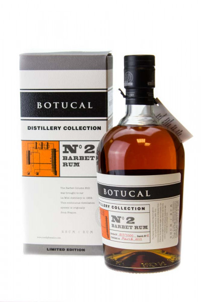 Botucal Distillery Collection No.2 Batch Single Barbet Column Rum - 0,7L 47% vol