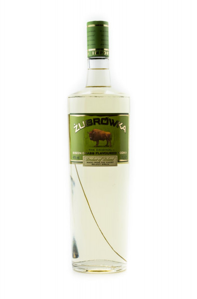 Zubrowka The Original Bison Grass Vodka - 1 Liter 40% vol