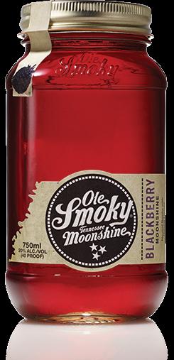 Ole Smoky Blackberry Moonshine - 0,5L 20% vol