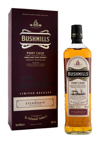 Bushmills Steamship Port Cask Single Malt Whiskey - 0,7L 40% vol
