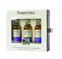Tomintoul Tasting Set 10/16/25 Jahre Single Malt Scotch Whisky - 0,15L 40% vol