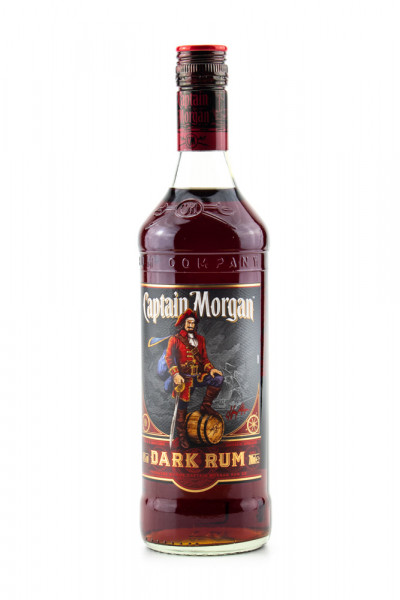 Captain Morgan Black Label Dark Rum - 0,7L 40% vol