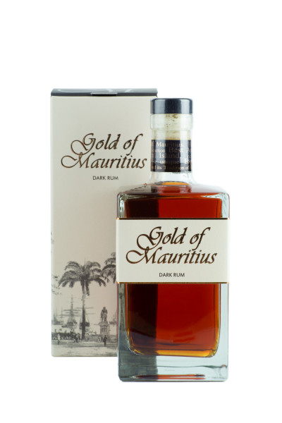 Gold of Mauritius Dark Rum - 0,7L 40% vol