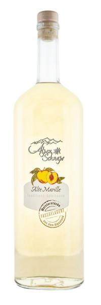 Alpenschnaps Alte Marille Fassgelagert - 1 Liter 41,8% vol