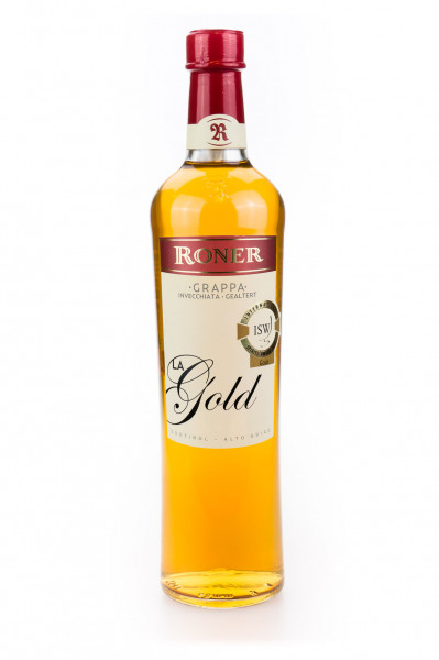 Roner Grappa La Gold Invecciata - 0,7L 40% vol