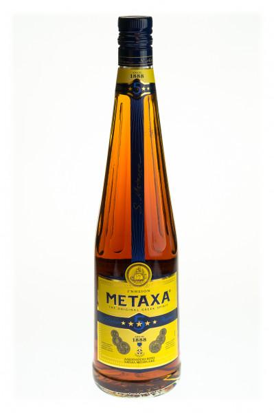 Metaxa 5 Sterne - 1 Liter 38% vol
