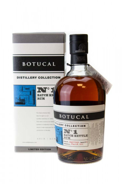 Botucal Distillery Collection No.1 Batch Kettle Rum - 0,7L 47% vol