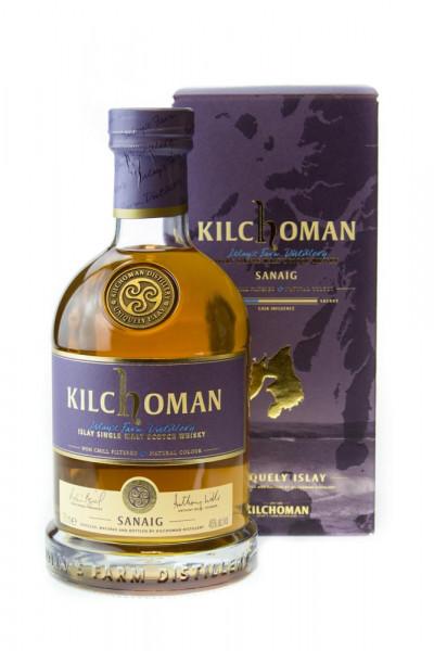 Kilchoman Sanaig Islay Single Malt Scotch Whisky - 0,7L 46% vol