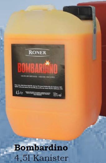 Roner Bombardino 4,5 Liter Kanister - 4,5L 18% vol