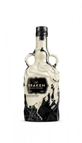 Kraken Black Spiced Rum Ceramic Limited Edition - 0,7L 40% vol