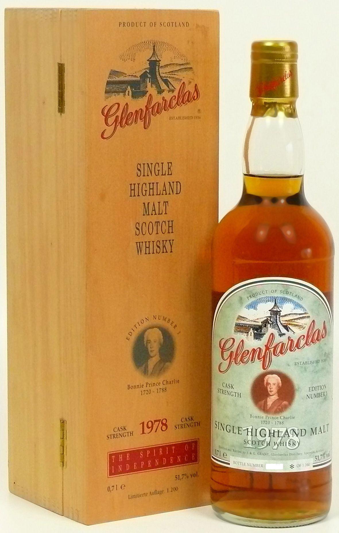 Glenfarclas Edition No. 1 Bonnie Prince Charlie