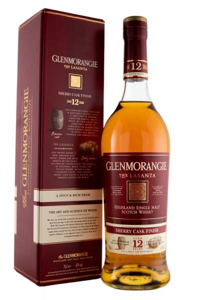 Glenmorangie Lasanta Highland Single Malt Scotch Whisky - 0,7L 43% vol