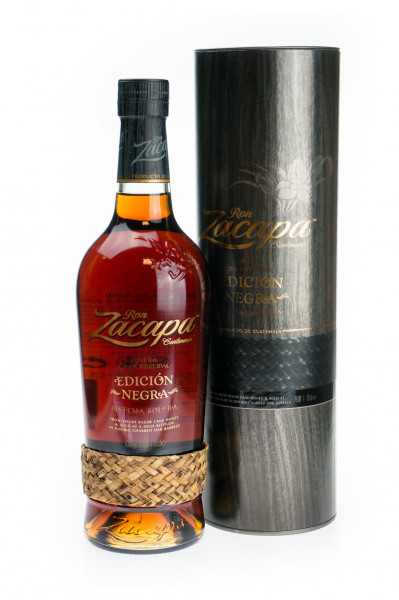 Ron Zacapa 23 Edicion Negra Sistema Solera Rum - 0,7L 43% vol