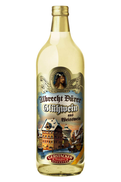 Gerstacker Albrecht Dürer Glühwein aus Weißwein - 1 Liter 9,1% vol