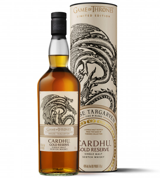 House Targaryen Cardhu Gold Reserve Single Malt Scotch Whisky - 0,7L 40% vol