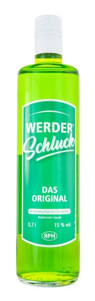 Werderschluck Waldmeister-Likör - 0,7L 15% vol