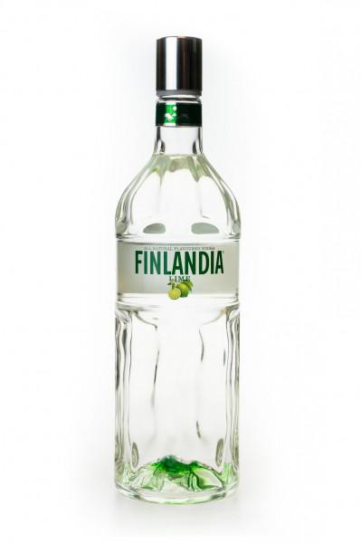 Finlandia Lime Flavoured Vodka - 1 Liter 37,5% vol