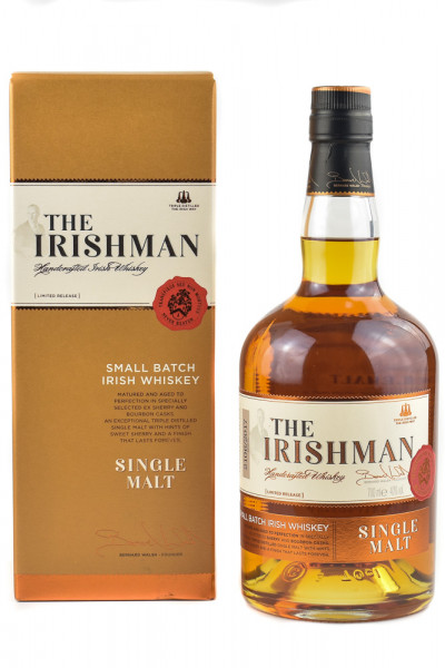 The Irishman Single Malt Small Batch Irish Whiskey - 0,7L 40% vol