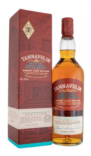 Tamnavulin Sherry Cask Speyside Single Malt - 0,7L 40% vol