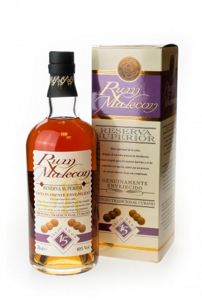 Rum Malecon Reserva Superior Anejo 15 Jahre - 0,7L 40% vol