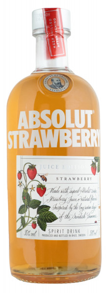 Absolut Juice Strawberry - 0,5L 35% vol