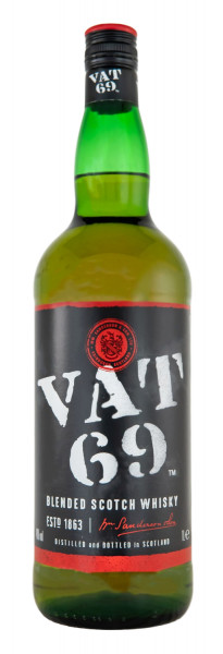 VAT 69 Blended Scotch Whisky - 1 Liter 40% vol