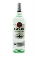 Bacardi Carta Blanca Superior White Rum - 1 Liter 37,5% vol