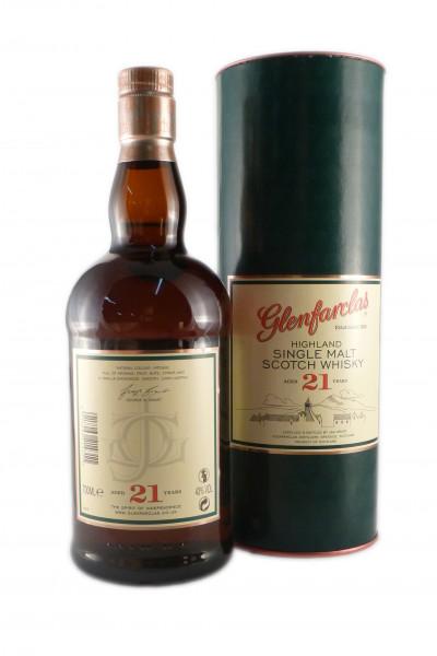 Glenfarclas 21 Years Old, Speyside Single Malt - 43% vol - (0,7L)