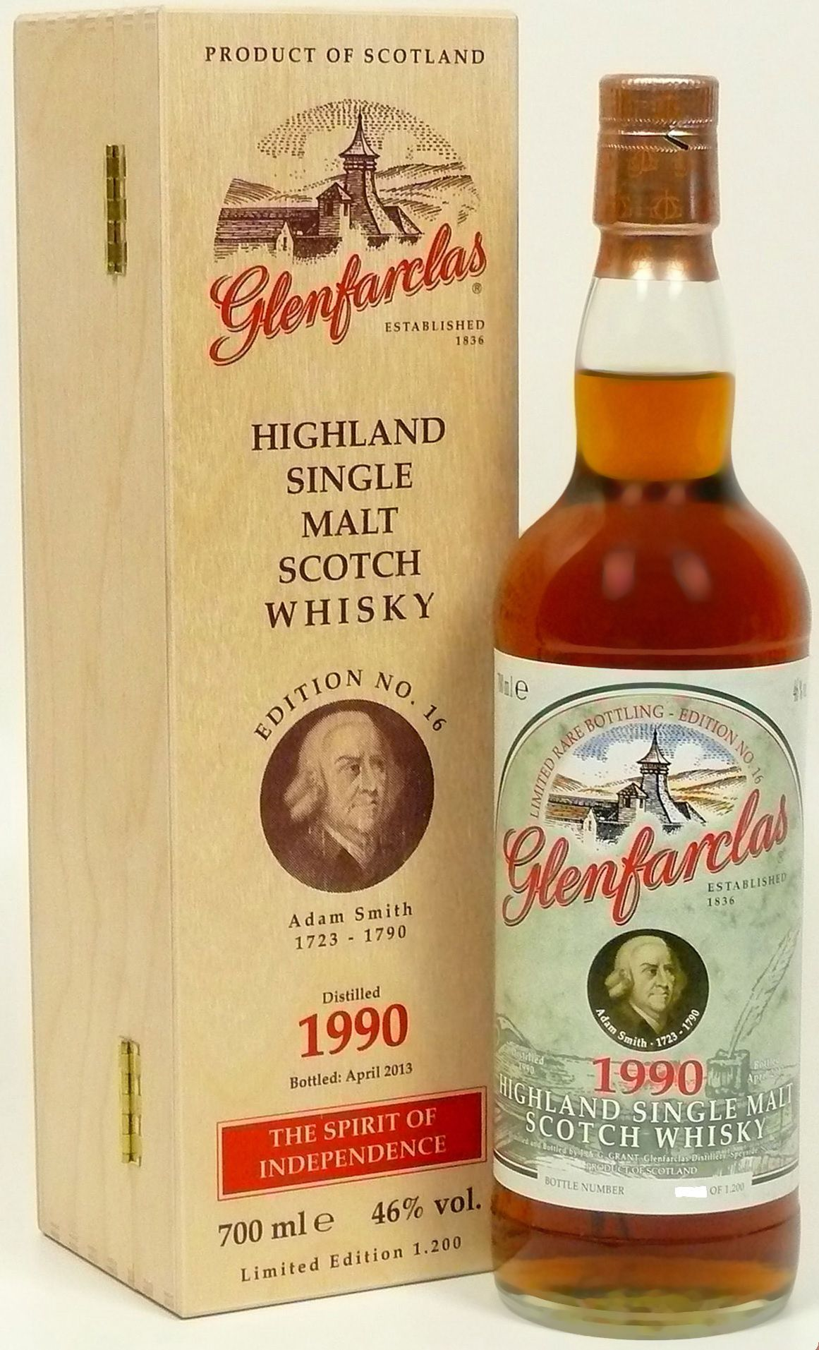 Glenfarclas Edition No. 16 Adam Smith