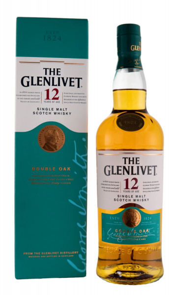 The Glenlivet 12 Jahre Single Malt Scotch Whisky - 0,7L 40% vol