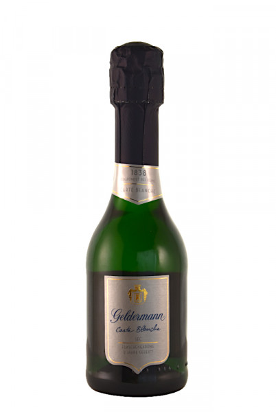 Geldermann Carte Blanche Sekt Flaschengärung Piccolo - 0,2L 12% vol