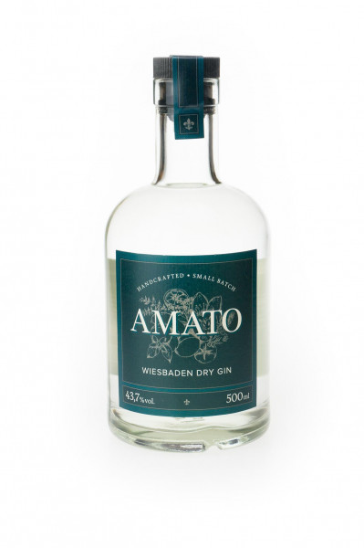 Amato Dry Gin - 0,5L 43,7% vol