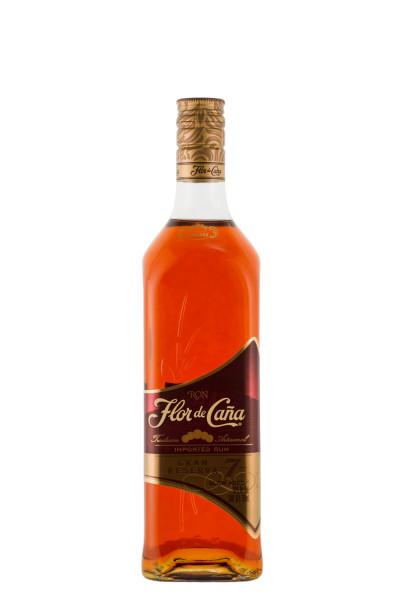 Flor de Cana Grand Reserva 7 Jahre brauner Rum - 0,7L 40% vol