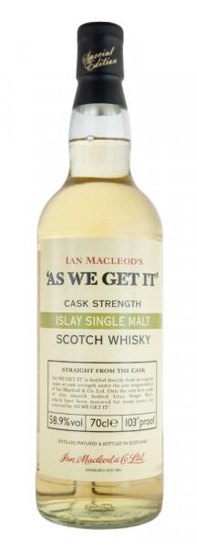 Ian Macleods As we get it Islay Single Malt Scotch Whisky - 0,7L 58,9% vol
