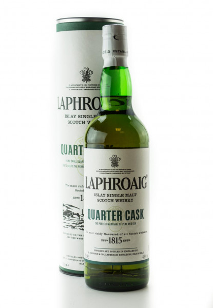 Laphroaig Quarter Cask Islay Single Malt Scotch Whisky - 0,7L 48% vol