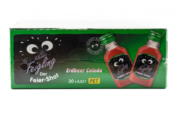 Kleiner Feigling Erdbeer Colada - 0,02L 15% vol