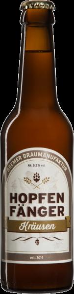 Hopfenfänger Kräusen Bier - 0,33L 5,2% vol
