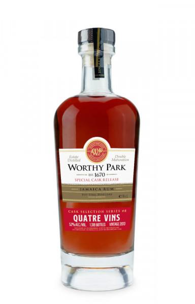 Worthy Park Special Cask Quatre Vins 2013 - 0,7L 52% vol