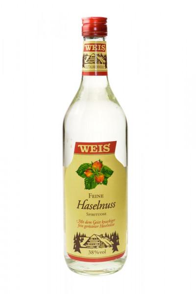 Weis Feine Haselnuss - 1 Liter 38% vol